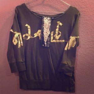 L.A.M.B. 3/4 sleeve shirt